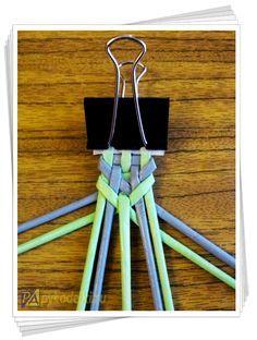 абажур из трубочек, плетеный абажур, абажур из газетных трубочек, абажур мк