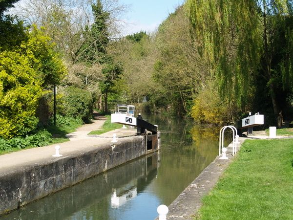 Bishop's Stortford - South Mill Lock in early summer 2014