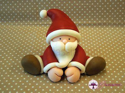 riGlassiamoci: Un regalo per voi....tutorial Babbo Natale