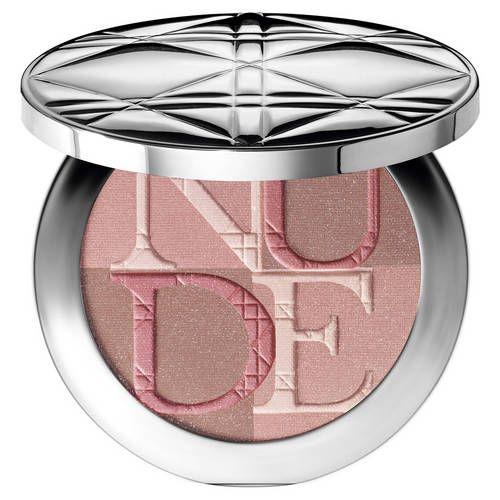 dior diorskin nude shimmer poudre illuminatrice bonne mine naturelle 001 rose maquillage. Black Bedroom Furniture Sets. Home Design Ideas