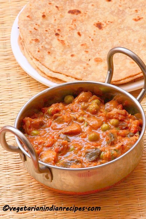Matar mushroom masala / Mushroom peas masala recipe is a tasty mushroom curry recipe which can be served with rice, roti or chapati. You can use any variety of mushrooms for this recipe. Matar mushroom masalais a regular item in every hotel menu, but this recipe is not a restaurant version, it is just homemade...Read More »