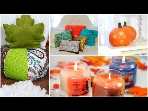 ▶ Easy ways to decorate your room for Fall! + How to make it cozy - YouTube (Macbarbie07)