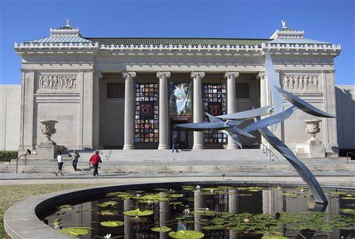 The regal New Orleans Museum of Art is New Orleans' oldest fine art institution, opening on December 16, 1911.