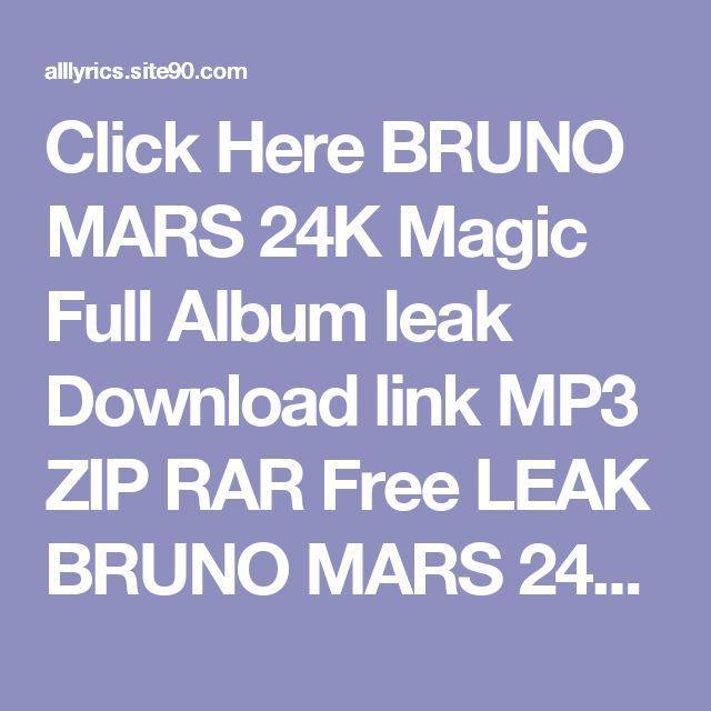 Bruno Mars Earth To Mars Mp3 Album Zip - mediafiretrend.com