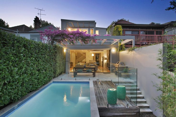 Superb architecturally designed home with pool, views