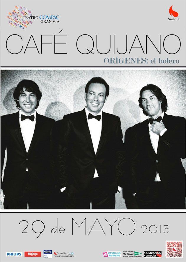 Concierto de Cafe Quijano en el Teatro Compac Gran Via de Madrid