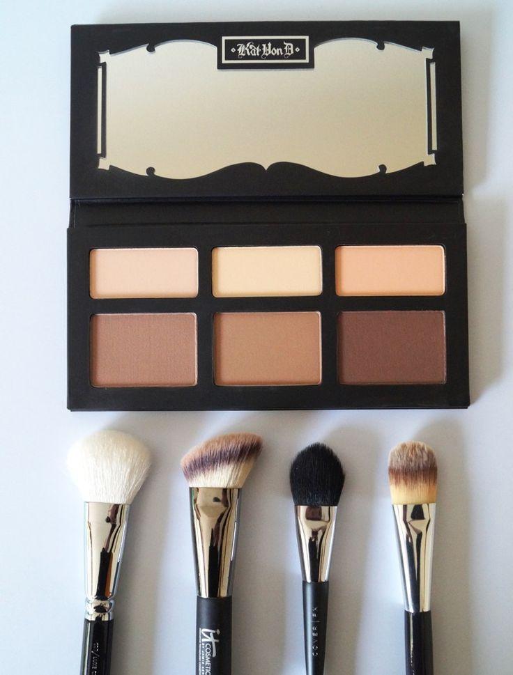 kat von d shade and light contour palette, kat von d shade and light, palette, contour, kat von d, makeup, beauty, beauty review, beauty blog, beauty blogger