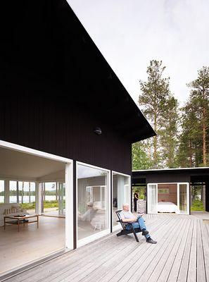 Scandinavian beach house