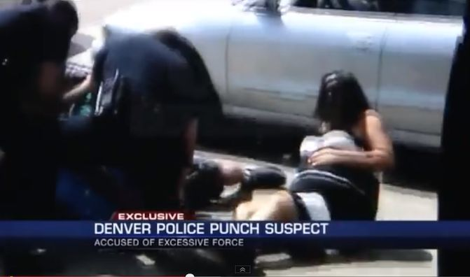 WATCH: Denver Police Beat Man, Trip His Pregnant Girlfriend, Then Try to Delete the Evidence