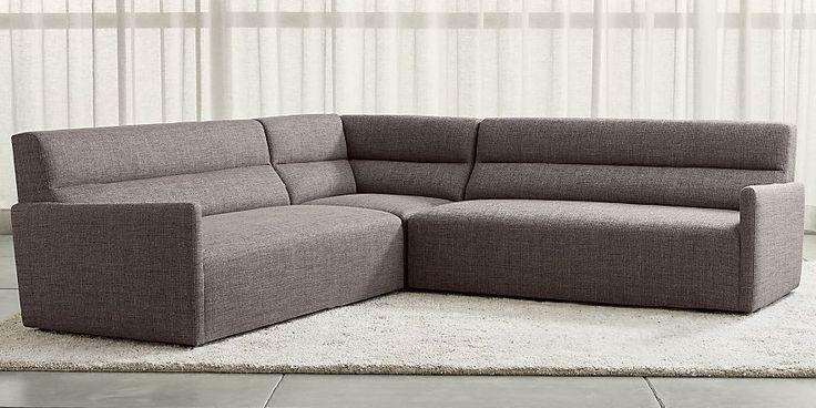 3 Piece Corner Sectional Sofa