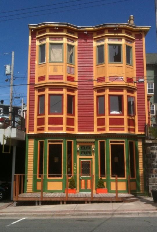 Jellybean Row Houses New Foundland