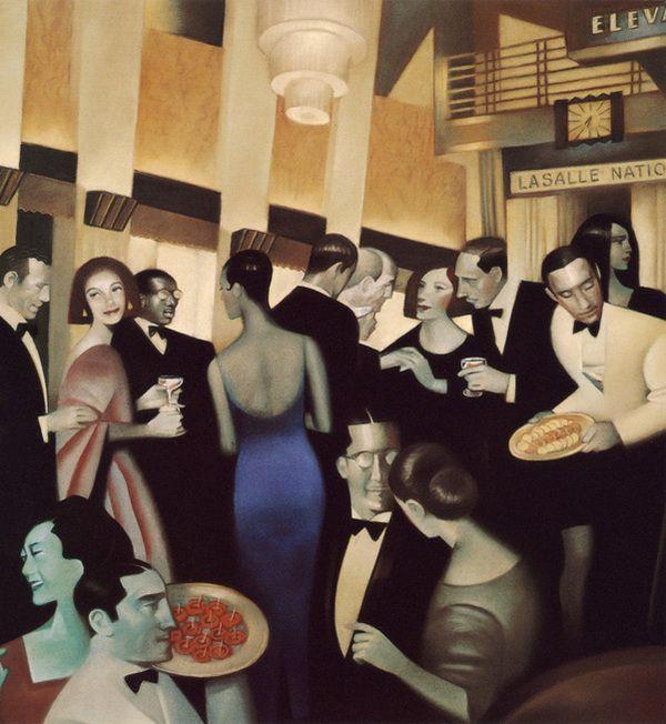 Paintings by Gary Kelley