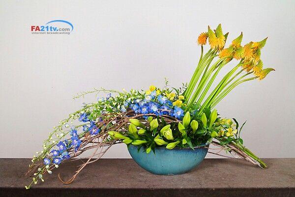 성전꽃꽂이 church floral arrange 조유미회장 - 한국기독교선교회 회장 http://fa21tv.com