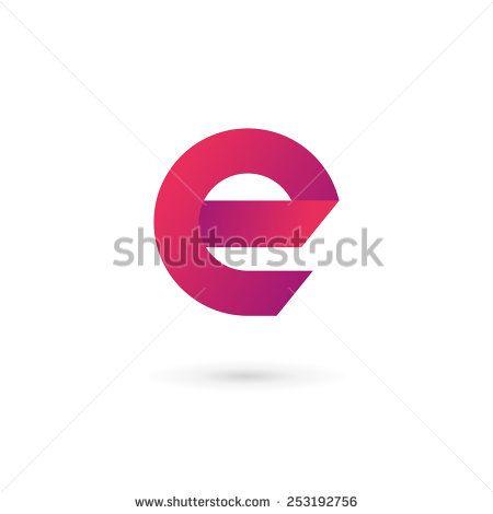 stock-vector-letter-e-logo-icon-design-template-elements-253192756.jpg (450×470)