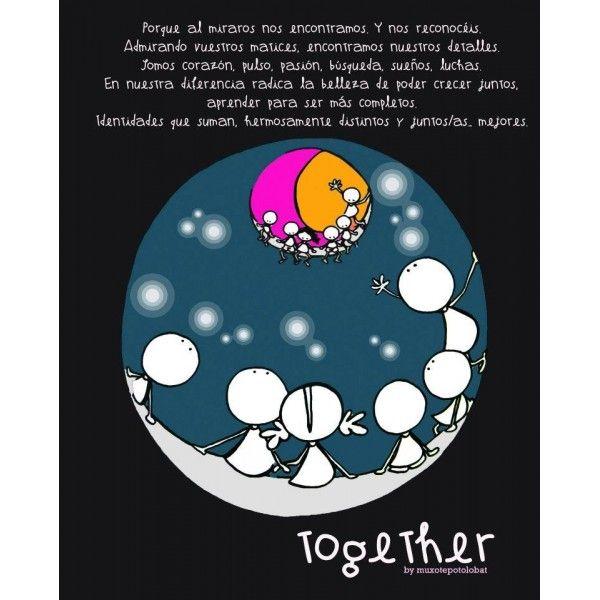 """Lámina """"Together II"""""""