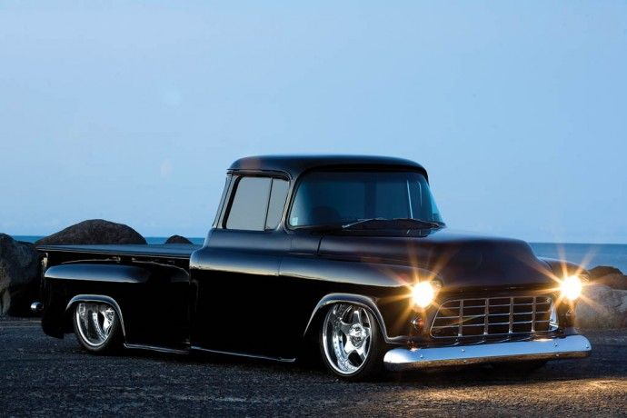 1955 Chevy Truck, I will have a truck like this one day.  Wait I do have one now!!!