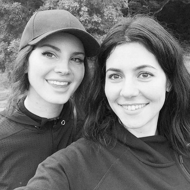 Marina & The Diamonds and Lana Del Rey (Aug.21, 2017) #selfie