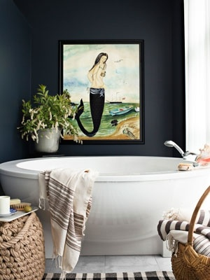 17 best images about bathroom decorating ideas on for Mermaid bathroom ideas