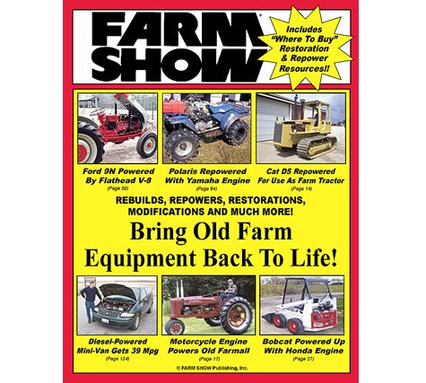 FREE Sample Issue of Farm Show Magazine - http://ift.tt/1RQxeK6