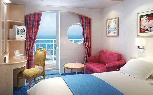 Norwegian sky balcony view cruise interiors for Cheap cruise balcony rooms