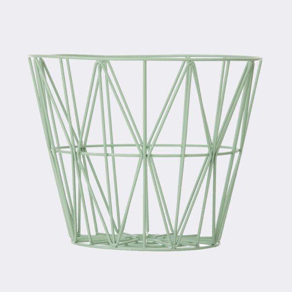 Wire Basket – Mint