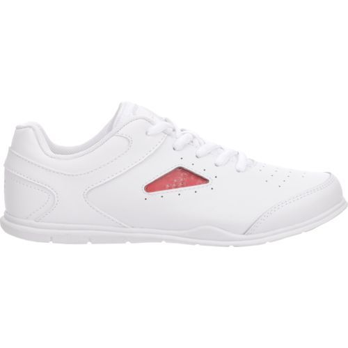 BCG Women's Cheer Squad Cheerleading Shoes (White, Size 11