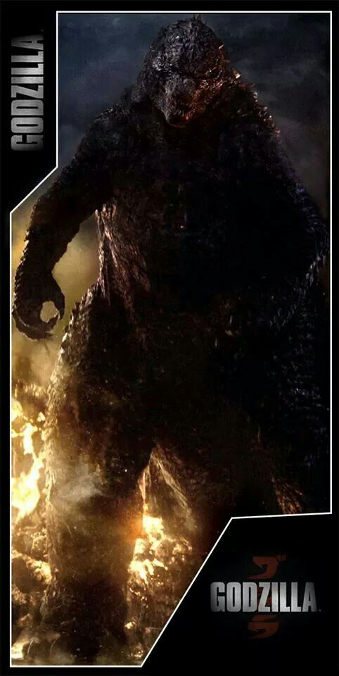 Godzilla (2014) -- Went to a late show on opening day, amazing crowd and energy! We all cheered when the camera panned up to big G for the first time :D