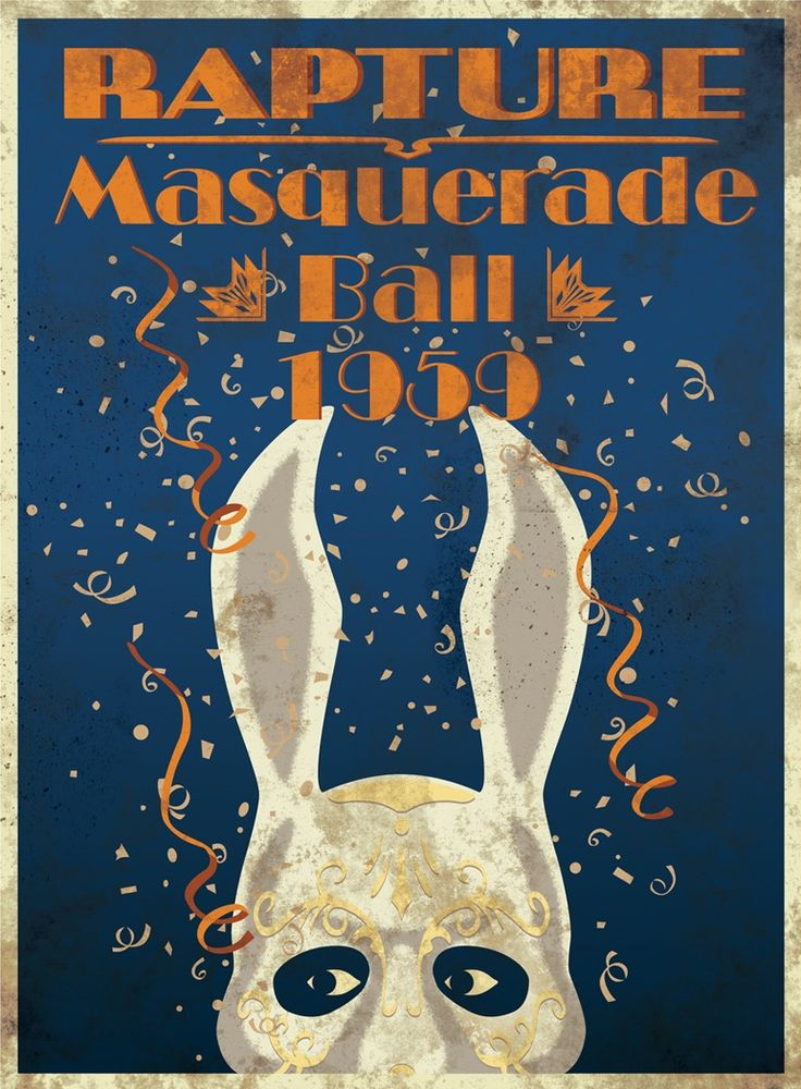 inspired by Tom... Masquerade poster