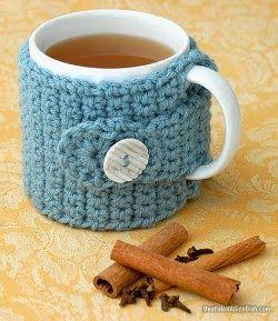 2000 Free Amigurumi Patterns: Crochet Mug Cozy
