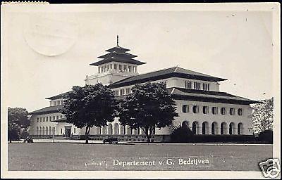BANDOENG Departement van G. B. 1953 RPPC