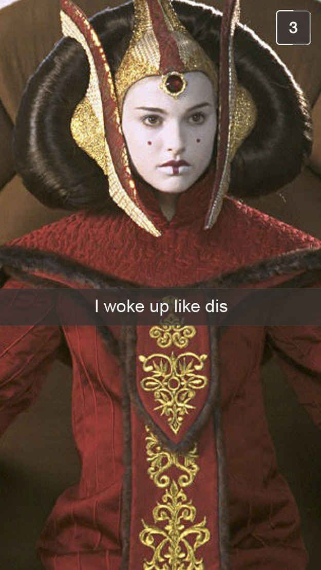 "25 Snapchats All ""Star Wars"" Fans Will Understand"