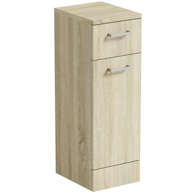 Click here to find out more about the Orchard Eden oak linen basket unit 300mm - £104.25