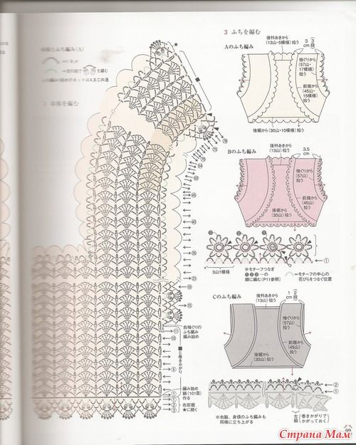 99 best Ganchillo chaquetas images on Pinterest   Crochet patterns ...