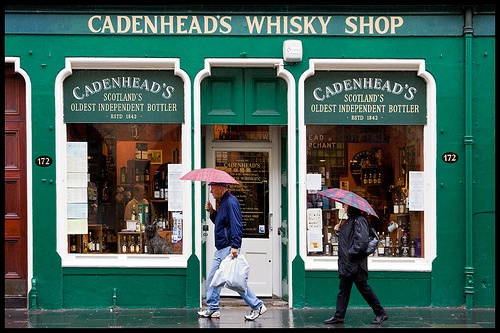 Cadenhead's Whisky Shop, Edinburgh by John Perriam, via Flickr