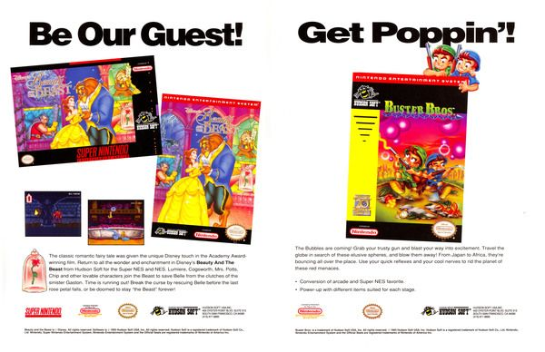 Game Informer looks at lost NES games   Did you know that the NES version of Beauty and the Beast never released stateside? It saw a limited release in Europe but we only got the SNES version here. As for that Buster Bros. NES game that never saw release anywhere! It's been lost to history just hiding out there somewhere waiting to be loved.  Check out more lost NES games here  from GoNintendo Video Games