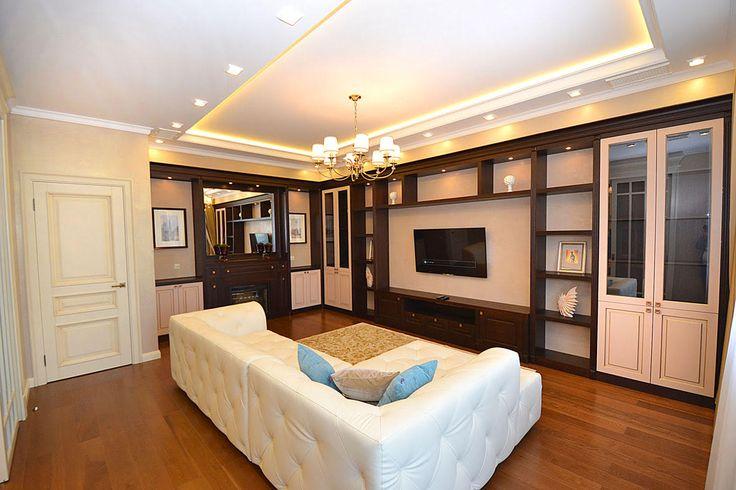 Мебель модульная и стенки для гостиной на заказ. Многообразие форм и дизайна.