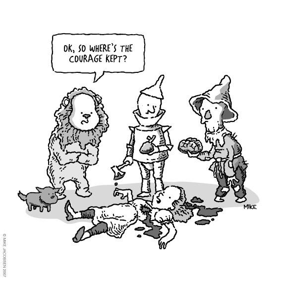 Dorothy musted... die:
