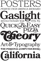 Our Favorite Typefaces of 2011. By Typographica.