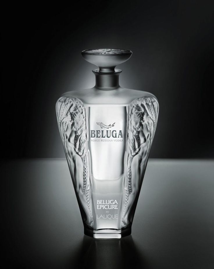 Epicure is a collaboration between Beluga Vodka and French crystal master Lalique, which has made special, hand-crafted custom crystal decanters for the vodka in its Alsace, France, workshops. This limited edition will cost $6000.