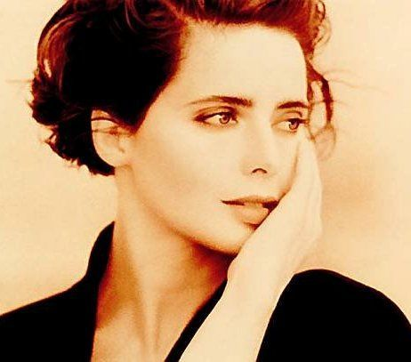 Isabella Rossellini (so obviously the daughter of Ingrid Bergman)