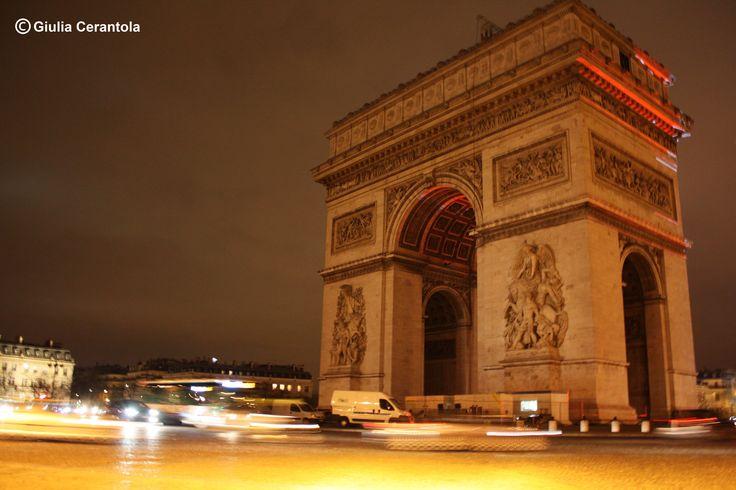 Arc du triomphe Paris  - copyright Giulia Cerantola