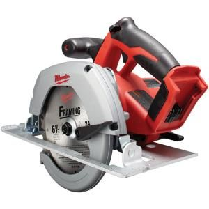 Milwaukee M18 18-Volt Lithium-Ion 6-1/2 in. Cordless Circular Saw (Tool-Only) 2630-20 at The Home Depot - Mobile