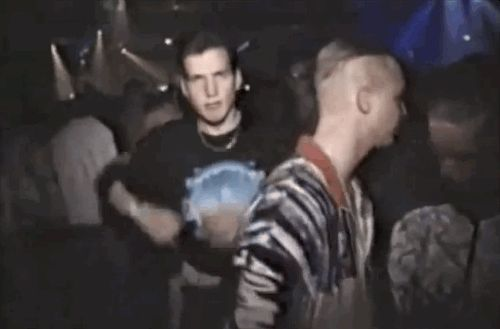 The unwitting Dad dancer. | The 19 Types Of Old-School Rave Casualty