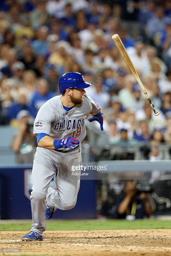 Ben Zobrist, CHC//Oct 19, 2016 Game 4 NLCS at LAD                                                                                                                                                                                 More