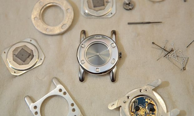 A watchmaker's workshop. The Heritage Lottery Fund investment will be used to create a national centre for horology at Upton Hall in Nottinghamshire.