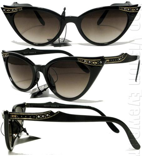 If these aren't the coolest... Every Pinup needs fabulous sun glasses to potect her eyes all year long.