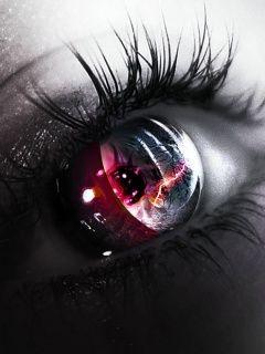 Burning Dystopian Eye