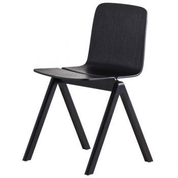 Copenhague tuoli, musta