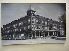 Real Photo Postcard Cerro Gordo Hotel Mason City Iowa L L Cook