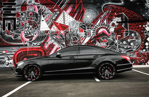 Exclusive Motoring Mercedes Cls550 Forgiato Wheels Lowered